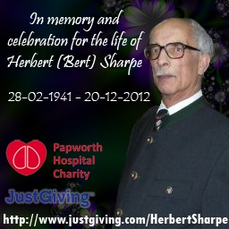 In memory of Herbert Sharpe