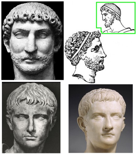 Go Back > Gallery For > Ancient Roman Hairstyles For Men